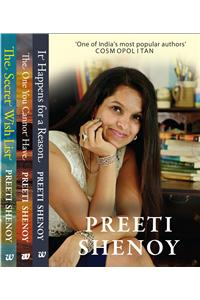 Preeti Shenoy Box Set of 3 Books (Secret Wish List,The One You Cannot Have, It Happen For A Reason)