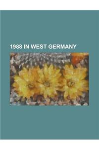 1988 in West Germany: West Germany at the 1988 Summer Olympics