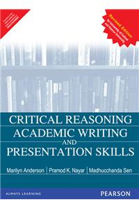 critical thinking academic writing and presentation skills Critical thinking skills effective oral presentation skills effective writing skills competency in information literacy academic and civic lives critical thinking after completing course work in critical thinking, students should be able to.