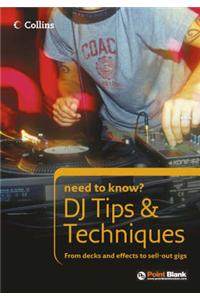 DJ Tips and Techniques