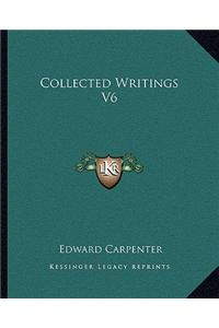 Collected Writings V6