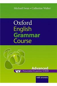 Oxford English Grammar Course: Advanced: with Answers CD-ROM Pack