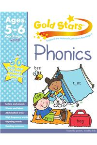 Gold Stars KS1 Phonics Workbook Age 5-7