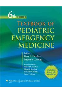 Textbook of Pediatric Emergency Medicine [With Web Access]