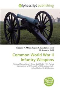 Common World War II Infantry Weapons