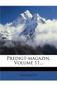 Predigt-Magazin, Volume 11...