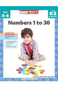 Numbers 1 to 30, Level K2