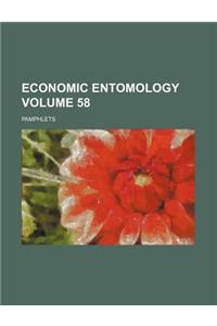 Economic Entomology Volume 58; Pamphlets