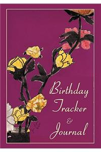 Birthday Tracker & Journal