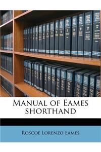 Manual of Eames Shorthand
