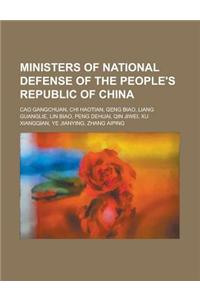 Ministers of National Defense of the People's Republic of China