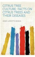 Citrus Tree Culture; Facts on Citrus Trees and Their Diseases