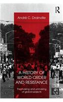 History of World Order and Resistance