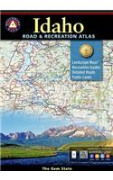 Idaho Road & Recreation Atlas