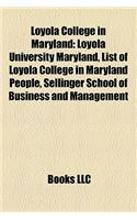 Loyola College in Maryland