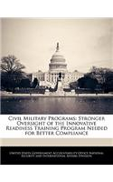Civil Military Programs: Stronger Oversight of the Innovative Readiness Training Program Needed for Better Compliance