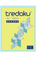 Tredoku Easy Medium Grande Book 1