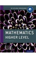 Ib Mathematics Higher Level Course Book: Oxford Ib Diploma Program