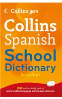 Collins Gem Spanish School Dictionary
