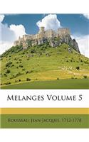 Melanges Volume 5