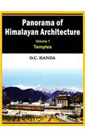 Panorama of Himalayan Architecture: Temples: v. 1