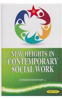 New Heights In Contemporary Social Work  3 Vol Set
