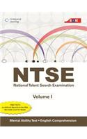 Ntse Vol I: Mental Ability Test And English Comprehension