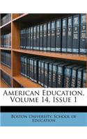American Education, Volume 14, Issue 1
