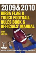 2009 & 2010 Nirsa Flag & Touch Football Rules Book & Officials' Manual-14th Edition