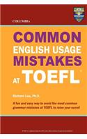 Columbia Common English Usage Mistakes at TOEFL