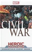 Marval Heroic Roleplaying Civil War Essentials Event Book