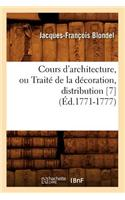 Cours D'Architecture, Ou Traite de La Decoration, Distribution [7]