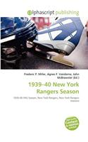 1939-40 New York Rangers Season