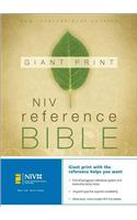 Giant Print Reference Bible-NIV