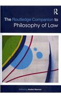 Routledge Companion to Philosophy of Law