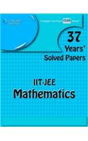 37 Years' Solved Papers Iit Jee: Mathematics