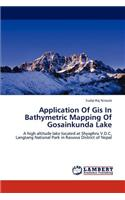 Application of GIS in Bathymetric Mapping of Gosainkunda Lake