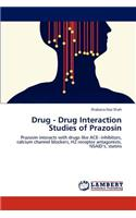 Drug - Drug Interaction Studies of Prazosin