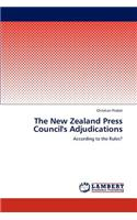 The New Zealand Press Council's Adjudications