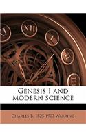 Genesis I and Modern Science