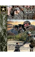 Army Doctrine Publication Adp 1 the Army September 2012