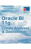 Oracle Bi 11g: Create Analyses & Dashboards