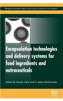 Encapsulation Technologies and Delivery Systems for Food Ingredients and Nutraceuticals