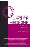 Making Sense of Acute Medicine