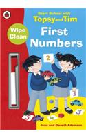 Start School with Topsy and Tim: Wipe Clean First Numbers