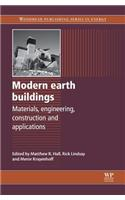 Modern Earth Buildings: Materials, Engineering, Constructions and Applications