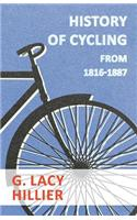 History of Cycling - From 1816-1887