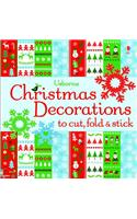 Usborne Christmas Decorations to Cut, Fold & Stick