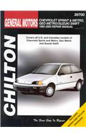 Chevrolet Metro/Sprint/Swift, 1985-00
