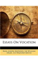 Essays on Vocation